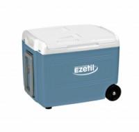 Autochladnička termoelektrická E40 12/230V 37 litrů s kolečky Ezetil s funkcí BOOST cool 24h