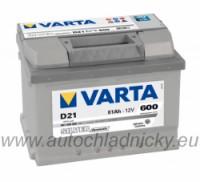 Autobaterie Varta SILVER dynamic 12V 61Ah 600A, 561400 - Plzeň
