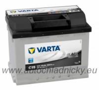 Autobaterie Varta BLACK dynamic 12V 56Ah 480A, 556401 levá - Plzeň