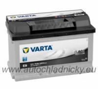 Autobaterie Varta BLACK dynamic 12V 70Ah 640A, 570144 levá - Plzeň