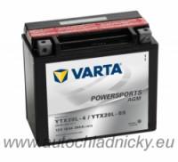 Motobaterie 518901 VARTA YTX20L-BS 12V 18Ah 260A AGM - Plzeň